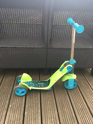 Smoby Children's Switch Blue 2-In-1 Rider-On Scooter Unisex 18 Months To 4 • 15£