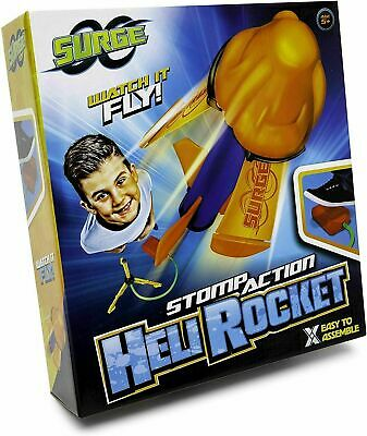 Air Power Rocket Launcher Stomp Stamp Rocket Launcher Toy Outdoor Garden Game • 7.75£