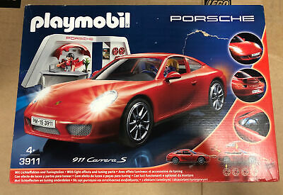 Playmobil Porsche 3911 Carrera S With Lights & Workshop  • 34.99£