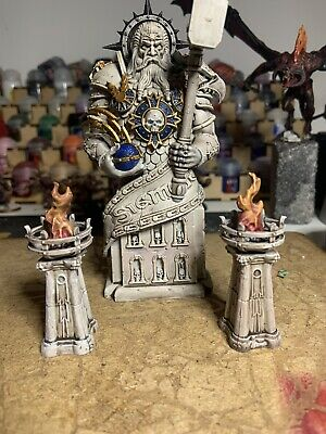 Dominion Of Sigmar Statue Painted Age Of Sigmar Scenery Games Workshop Warhammer • 28£