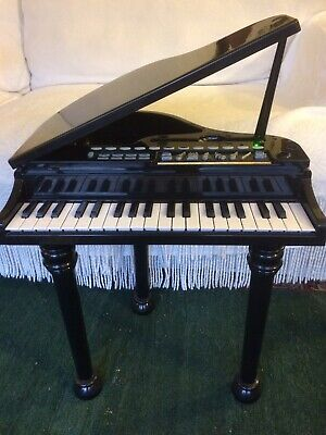 Kids Mini Grand Piano & Stool! Christmas! Birthday! • 15£