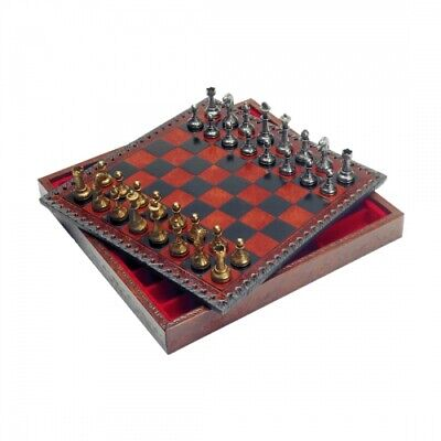 Chess Figures - Metal - Staunton - Kings Height 50mm • 58.24£
