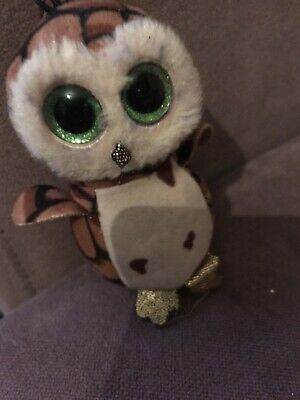 Ty Owl Sammy Keyring  Collectable • 0.99£