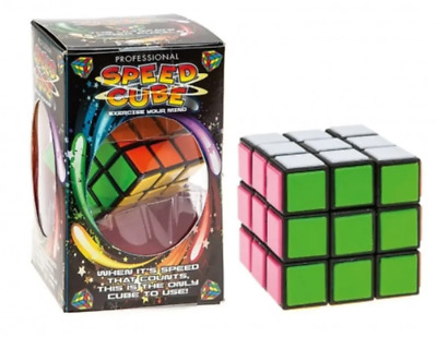Professional Speed Cube Rubiks  | Christmas Stocking Filler | Puzzle Twist Toy • 6.99£