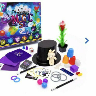 Kids ULTIMATE MAGIC SET - 150 + Tricks Included - Children Family Fun Play - 10+ • 14.99£