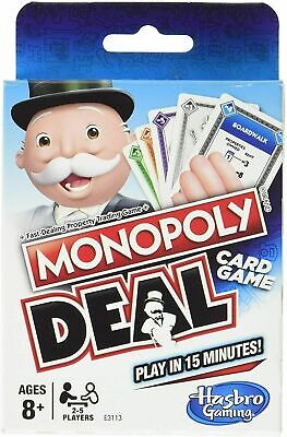 Monopoly Deal Monopoly Brand Deal Card Game Brand New UK Stock • 4.49£