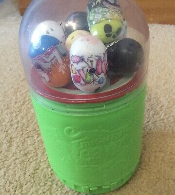 Mighty Beanz Toy Slam Set Complete 8 Beanz Christmas Stocking Filler • 4£