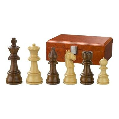Chess Figures - Theodoric - Wood - Burma Style - Kings Height 95 MM • 69.06£