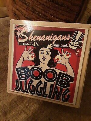 Shenanigans Boob Juggling And Book Set - NEW • 4.99£