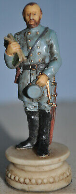 US Civil War Chess Piece - Stonewall Jackson ' Bishop Piece ' Hand Painted • 7.10£