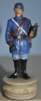 US Civil War Chess Piece - George McClellan ' Bishop Piece ' Hand Painted • 7.10£