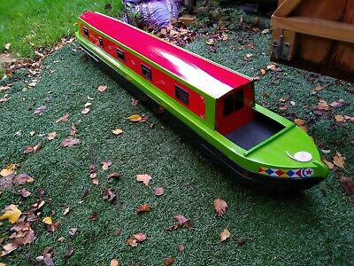 Radio Controlled Canal Narrowboat Unfinished Project. • 100£