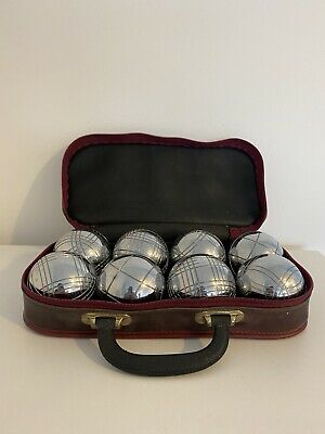 OBUT Petanque Boules And 2 Jacks With Carrycase • 64.99£