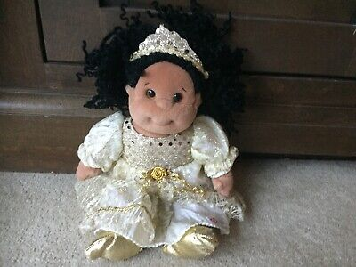 TY Beanie Kids Doll Toy In Gold Party Dress • 5.95£