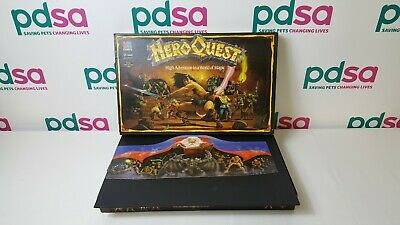 Hero Quest 1989 Fantasy Role Playing Board Game & Expansion By MB Games - M785 • 31.02£
