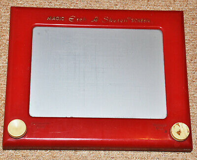 Classic Etch A Sketch Magic Board - Rare Original First Run Vintage 1960 Edition • 78£