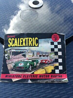 Scalextric Tri-ang Minimodels 3rd Edition Catalogue 1962 • 10£