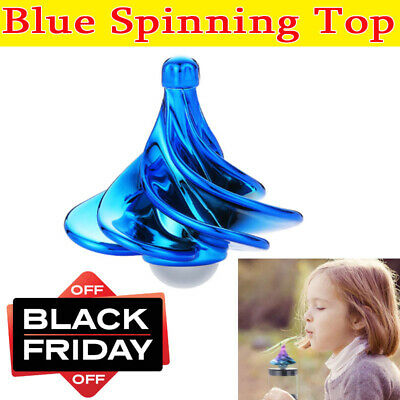 Spinning Top Decompression Toy Eleoption Spinning Top Built Last Wind Blow Gyro • 8.11£