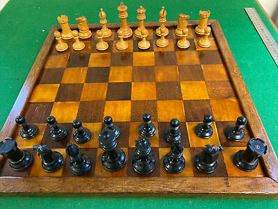 Antique Chess Board 45 Mm Squares • 1.20£