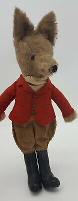 Fox Dressed As A Huntsman Vintage Soft Toy • 74£