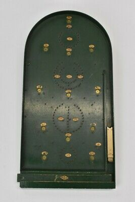 Reno Series Vintage Dark Green Wooden Bagatelle Traditional Game Working  • 21£