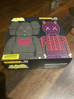 Medicom Toys Kaws Kubrick KM001 Bus Stop Figures Set 1 Be@rbrick New Unopened!  • 20.30£