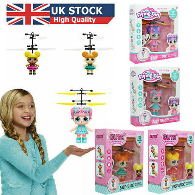 Toys For Girl Flying LOL Surprise Doll LED2 3 4 5 6 7 8 9 Year Old Age Xmas Gift • 6.59£
