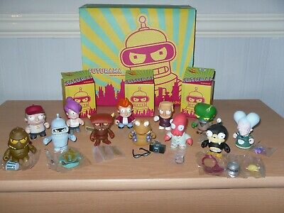 Kidrobot Futurama Full Set With All Accessories In Excellent Condition • 285£