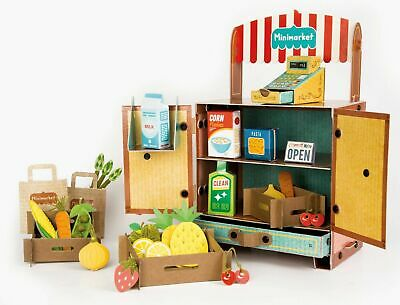Children Supermarket Stall Shop Mini-market Pretend Play Set Creative Kids Toys • 25.49£