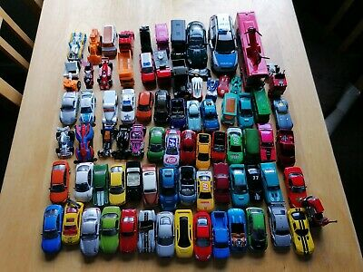 Bundle Of 80 Toy Cars , Used Condition , About 3kg Of Cars • 10£