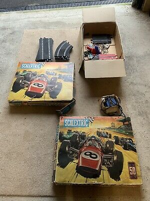 Scalextric Vintage, Classic Track And Sets Job Lot • 19£