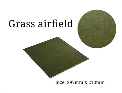 Grass Airfield 1:48 Display Base  (297x210mm)  • 7.49£