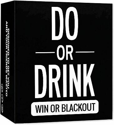 Do Or Drink - Drinking Card Game For Adults - Fun & Dirty Party - Dare Or Shots • 11.98£