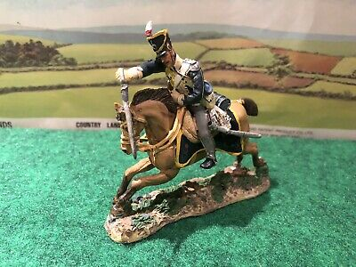 Del Prado Napoleonic Cavalry TROOPER BRITISH 13th Lt DRAGOONS 1811 - VGC • 4.25£