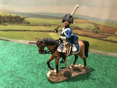 Del Prado Napoleonic Cavalry TROOPER 6th PRUSSIAN DRAGOONS 1806 - VGC • 4.25£