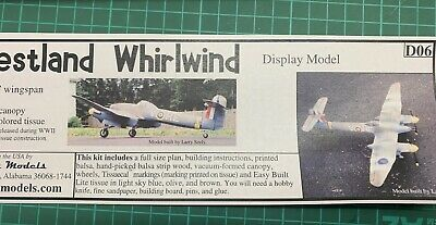 Easybuilt Westland Whirlwind Fighter - New In Box • 15£
