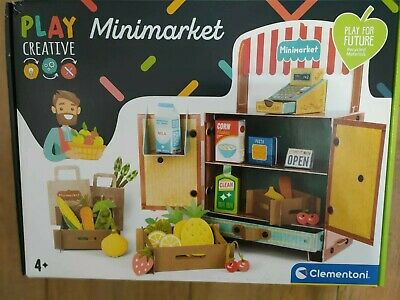 Toy Mini Market Shop Environmentally Friendly 100% Recycled Paper 4 Years + Bnib • 19.99£