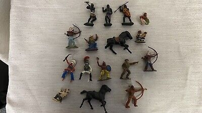 VINTAGE Lone Star Small Figures From Harvey Series [job Lot] • 39£