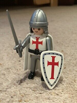 Playmobil Knights - Templar Crusades Knight, Rare • 6£