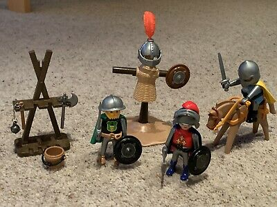 Playmobil Knights Training Field Tournament Set 3668 • 8£