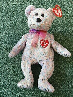Ty Beanie Babies 2001 Signature Bear ,with Tags • 1.10£