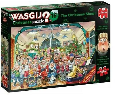 Wasgij Jigsaw Puzzle 16 The Christmas Show  2 X 1000 Pieces  • 19.99£