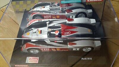 Carrera ExclusiV 124 Audi R10 TDI  Mans 2006 N° 1 Puce Analogique Chassis 23716 • 53.96£