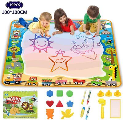 Lenbest Super Large Water Drawing Mat 40 X 40 Inch, Green,red,blue,yellow  • 28.29£