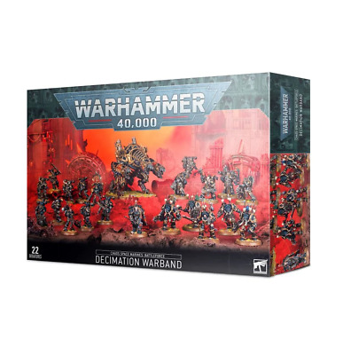 Chaos Space Marines Battleforce  Decimation Warband WARHAMMER 40K • 129.99£