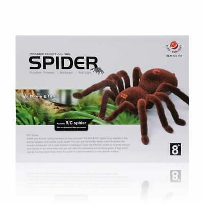 Infrared Realistic Remote Control RC Spider Kids Joke Toy Gift 8 Years+ • 12.99£