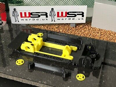 Scalextric FORD ESCORT Mk1 C052 CHASSIS & MOTOR MOUNT POD KIT • 18.80£