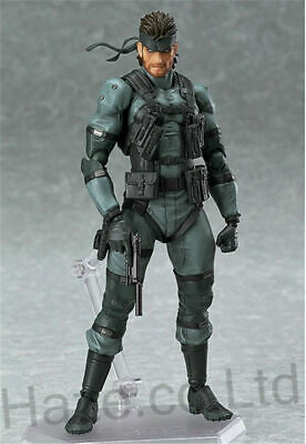 Metal Gear Solid Snake PVC Action Figure Model Toy New In Box 6  • 20.99£