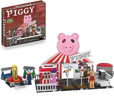 PIGGY Deluxe Carnival Construction Set INC DLC Roblox Action Figures Toy Game • 36.99£