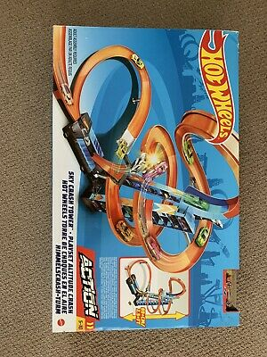 Brand New Hot Wheels - Gwt39 - Sky Crash Tower - Ages 4-10 • 41£